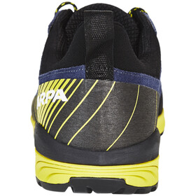 Scarpa M's Mescalito Shoes blue cosmo-acid lemon